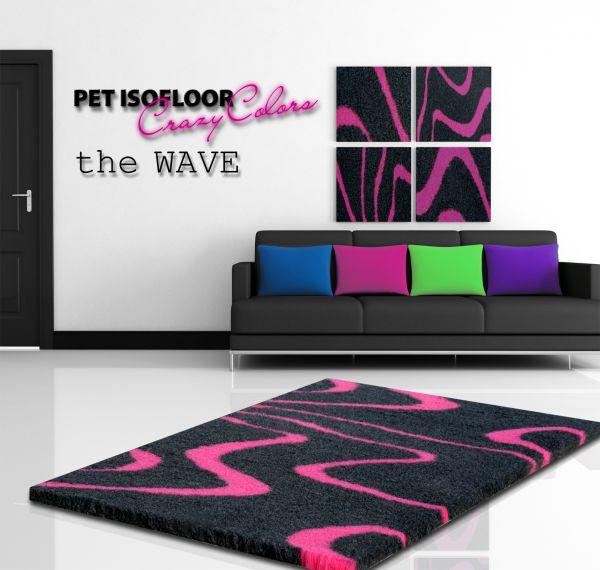 PET ISOFLOOR SX theWAVE Pink