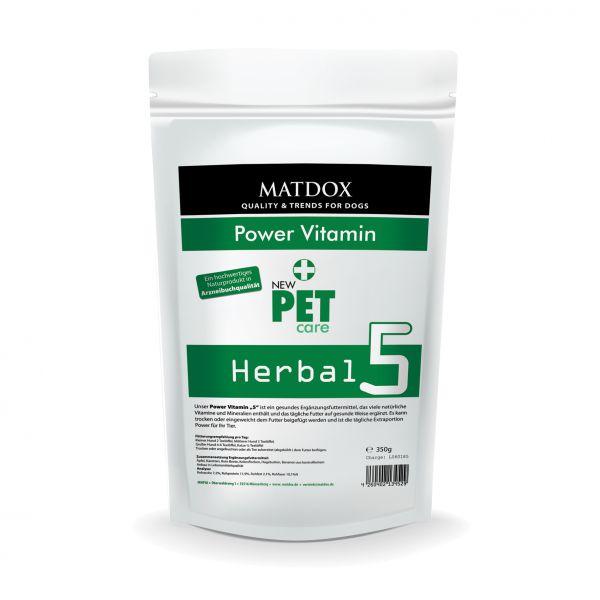 Herbal 5 Power Vitamin Kräutermischung