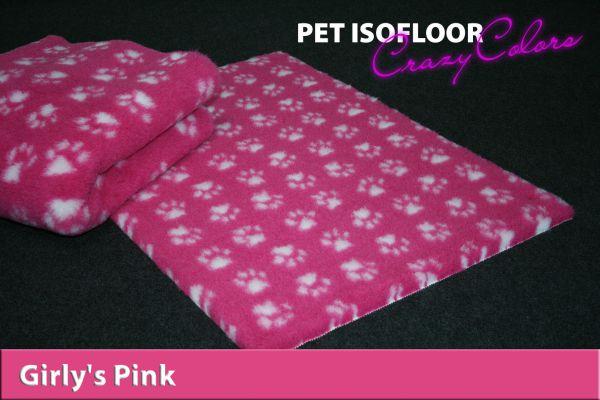 PET ISOFLOOR SX Girly's Pink